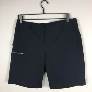 Athleta Black Bermuda shorts Size 12